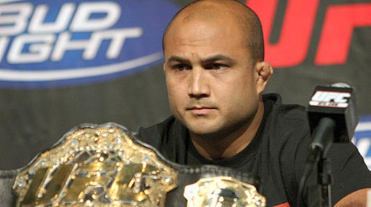 Photo of American professional MMA fighter, BJ Penn.