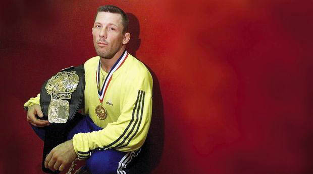 Photo of former MMA fighter, Pat Miletich.